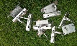 Assortment of Door Handle Sets (4 sets) - R150 for the lot