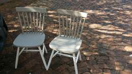 2 antique looking chairs