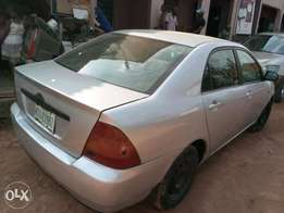 ADORABLE MOTORS: A crispy Clean and sound Bank type Corolla 4 sale