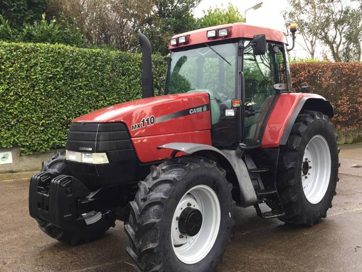 Case IH Mx110 Maxxum C/w Front Suspension - 2000