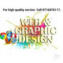 Web/Graphic designing services. Call NUMBER on picture