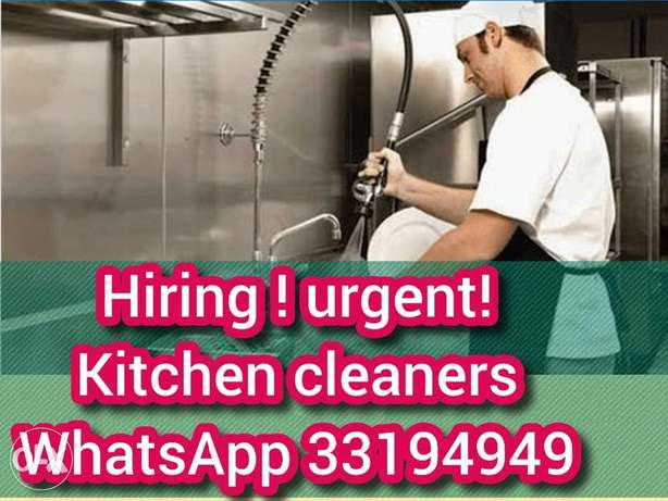 Kitchen and restaurant cleaners