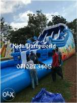 Slide Water slides,clown,mascots for hire clowns,face painting,mascots