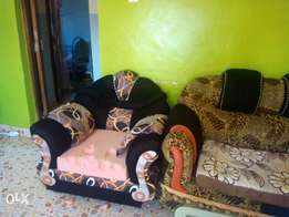Two set of sofaset and tv