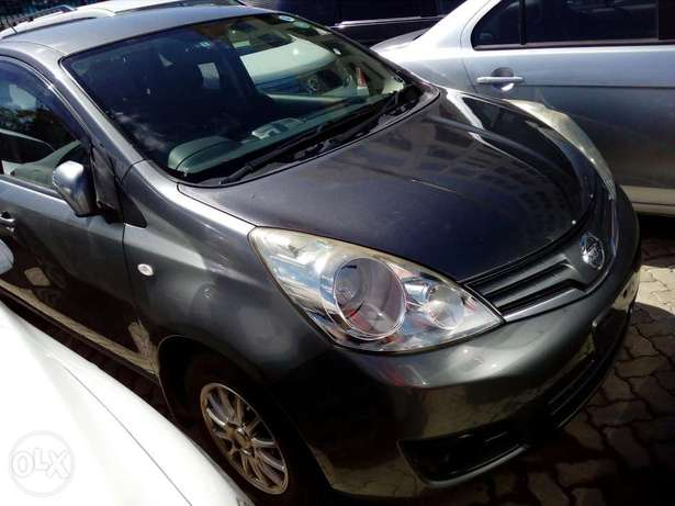 Nissan note grey color Fully loaded unit new plate number fresh import Mombasa Island - image 2