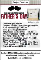 Daijon Creations - Fathers Day Special