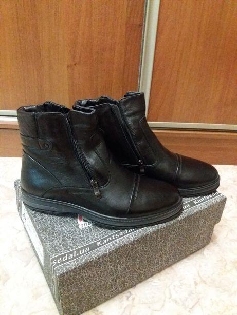 Мужские зимние ботинки р-р 40.  1 100 грн. - Чоловіче взуття Одеса ... e5e25f63680df