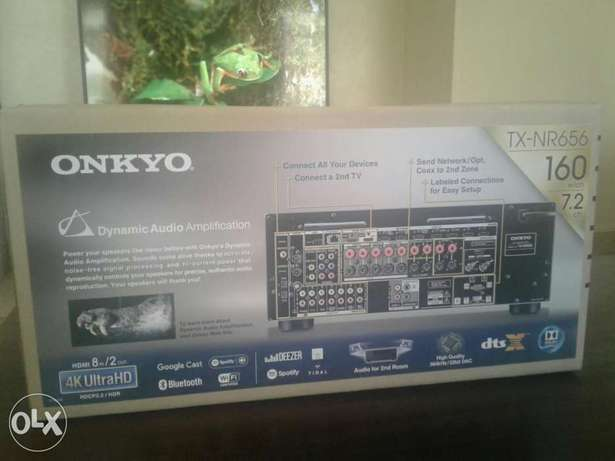 Brand new Onkyo TX-NR656 7.2 Audio Video Receiver Woodly - image 5