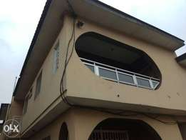 roomself contain at akoka yaba for a year rent