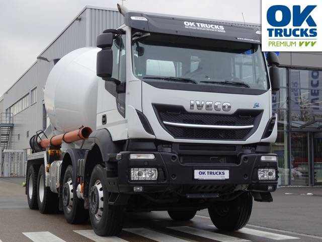 Iveco Stralis X-Way AD340X40Z 8x4x4 Schwing Stetter 9 m³ - 2017