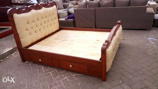 Bed 5/6 ,,with two drawers Ngara - image 2