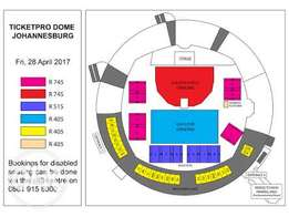 4 Lumineers tickets for sale