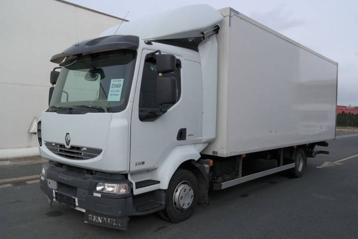 Renault MIDLUM 220.12 P 4x2 EURO 5 s hydraulickým čelem - 2011