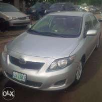 Nigerian Used Toyota Corolla, 2009, Very OK. You'll Like it.