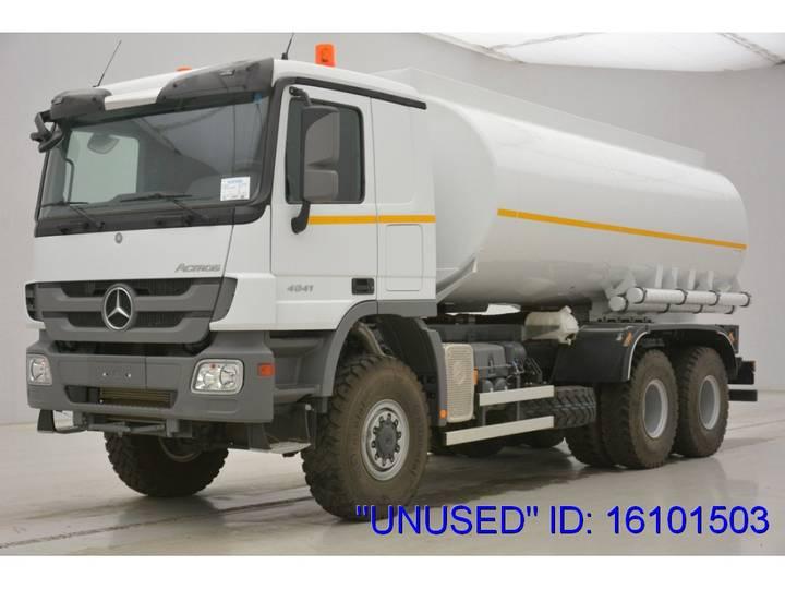 "Mercedes-Benz Actros 4041 - 6x6 ""Unused"" - 2017"