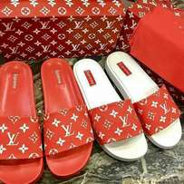 Supreme x Louis Vuitton Slides