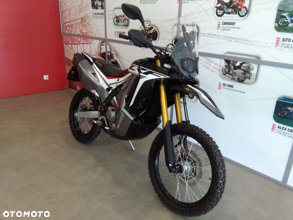 Honda CRF 250 Rally ABS, 2019, nowy model, transport, gwarancja, ASO - 1
