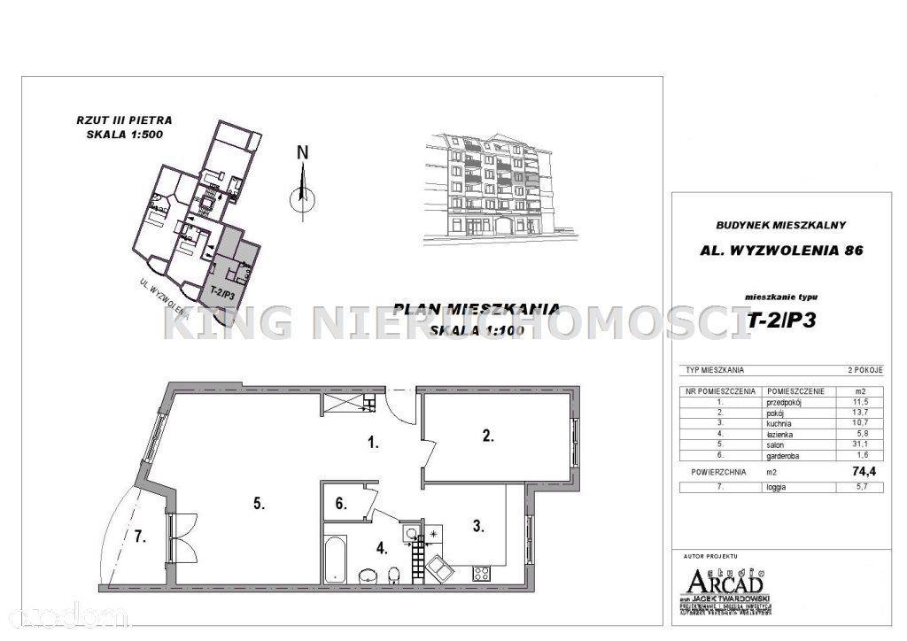 Mieszkanie na sprzedaż, Szczecin, Niebuszewo - Foto 5