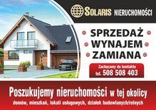 To ogłoszenie dom na sprzedaż jest promowane przez jedno z najbardziej profesjonalnych biur nieruchomości, działające w miejscowości Pułtusk, pułtuski, mazowieckie: SOLARIS Nieruchomości