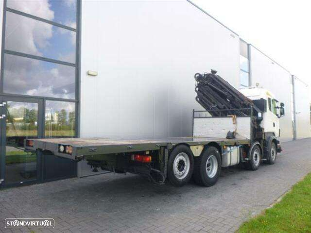Scania R480 8x2 Hmf Odin O K5 With Jib Euro 4 - 8