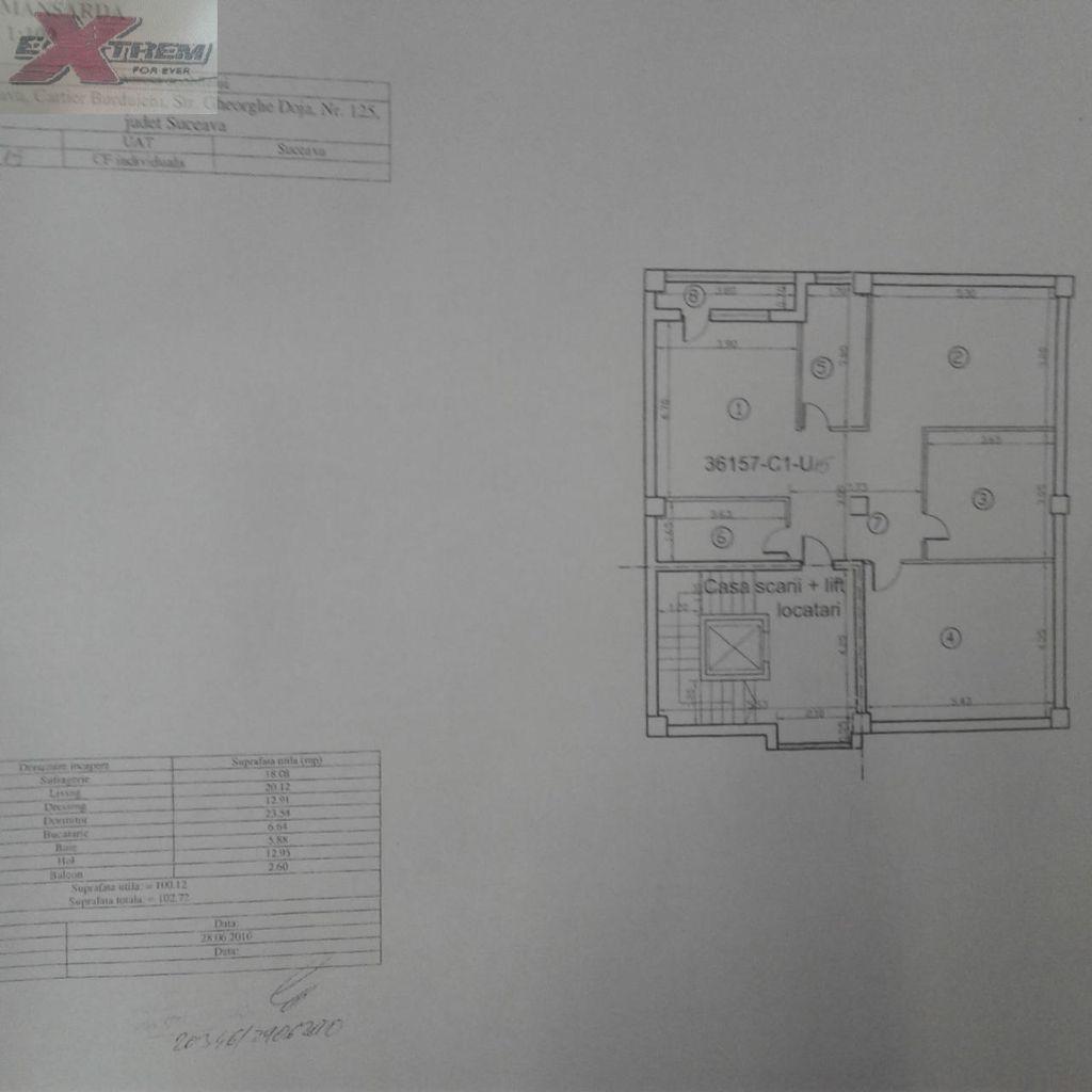 Apartament de vanzare, Suceava (judet), Strada Gheorghe Doja - Foto 1