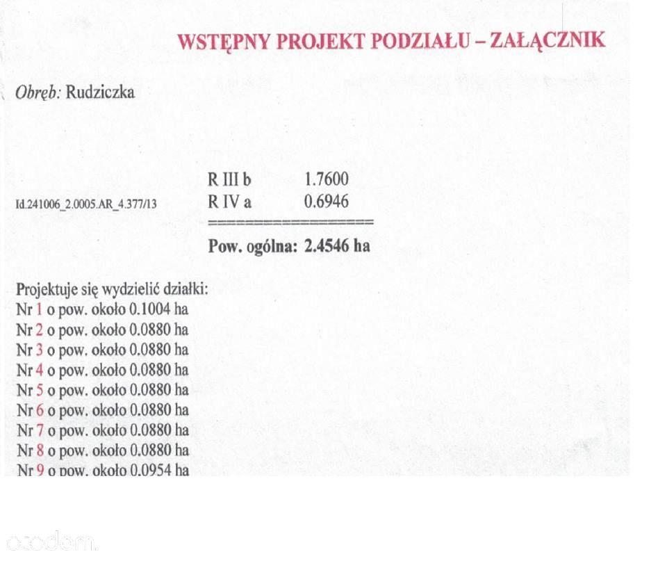 Działka na sprzedaż, Rudziczka, pszczyński, śląskie - Foto 3