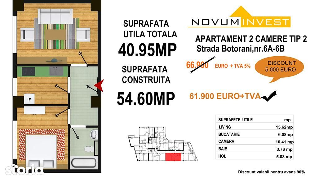 Apartament de vanzare, București (judet), Strada Mihail Sebastian - Foto 14