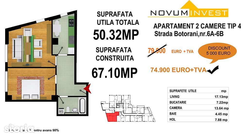 Apartament de vanzare, București (judet), Drumul Sării - Foto 12