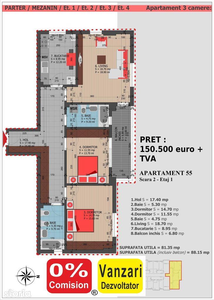 Apartament de vanzare, Bucuresti, Sectorul 3, Decebal - Foto 5