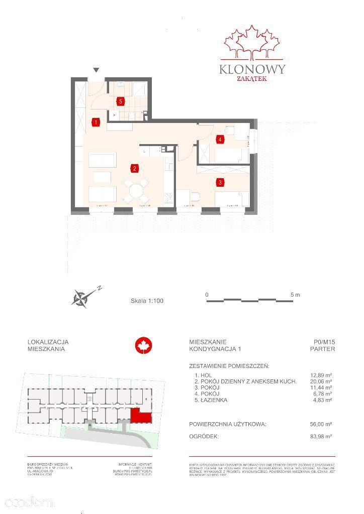 Mieszkanie na sprzedaż, Kamieniec Wrocławski, wrocławski, dolnośląskie - Foto 1011