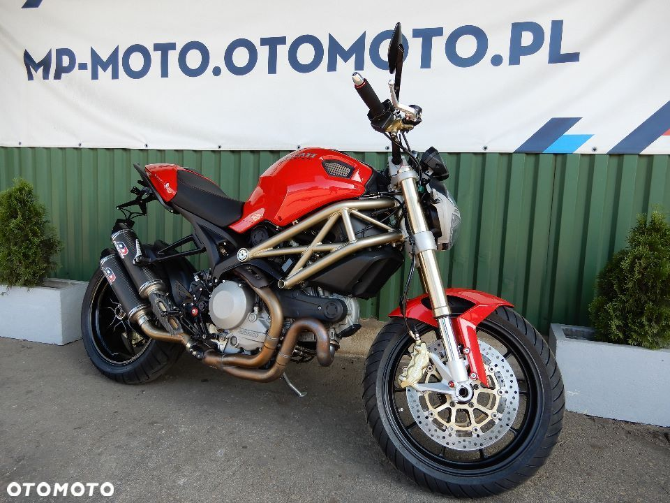 Ducati Monster 1100 EVO, 20 Anniversary, ks. serwisowa, 1 wł., SUPER LIMITED - 1