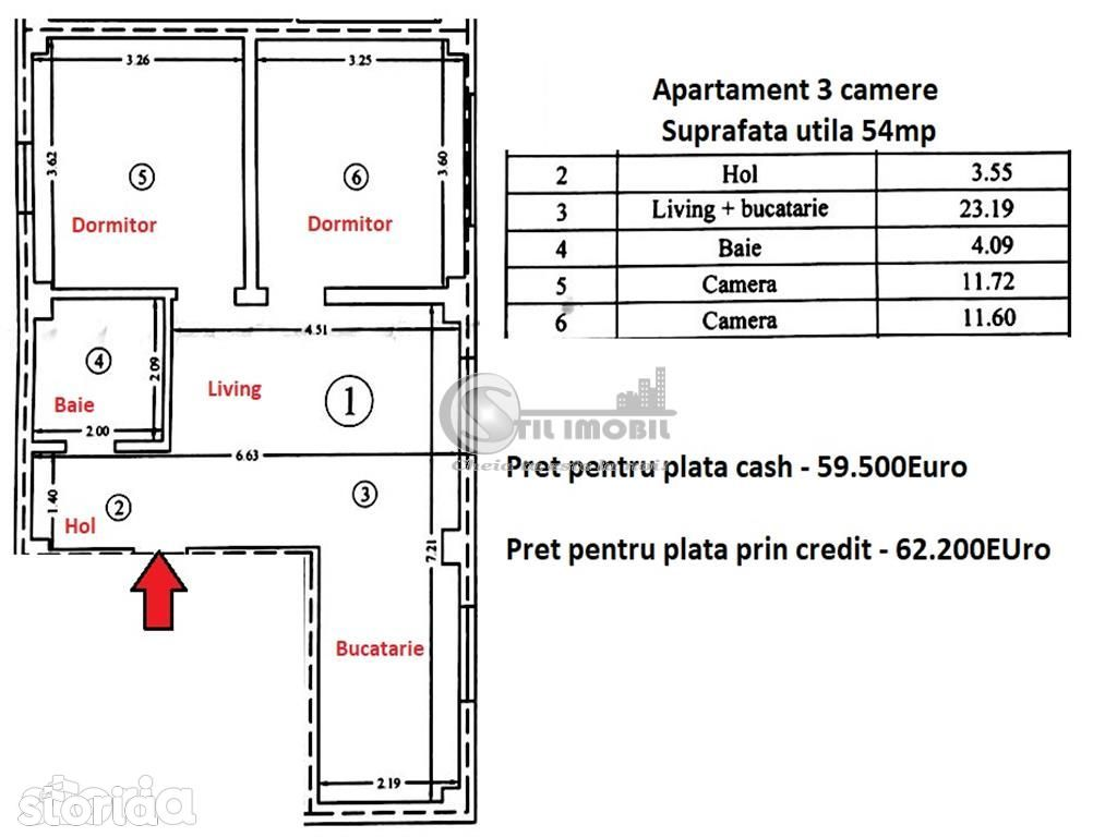 Apartament de vanzare, Iași (judet), Strada Mtr. Costache Veniamin - Foto 6