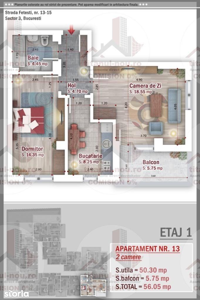 Apartament de vanzare, București (judet), Aleea Fetești - Foto 1