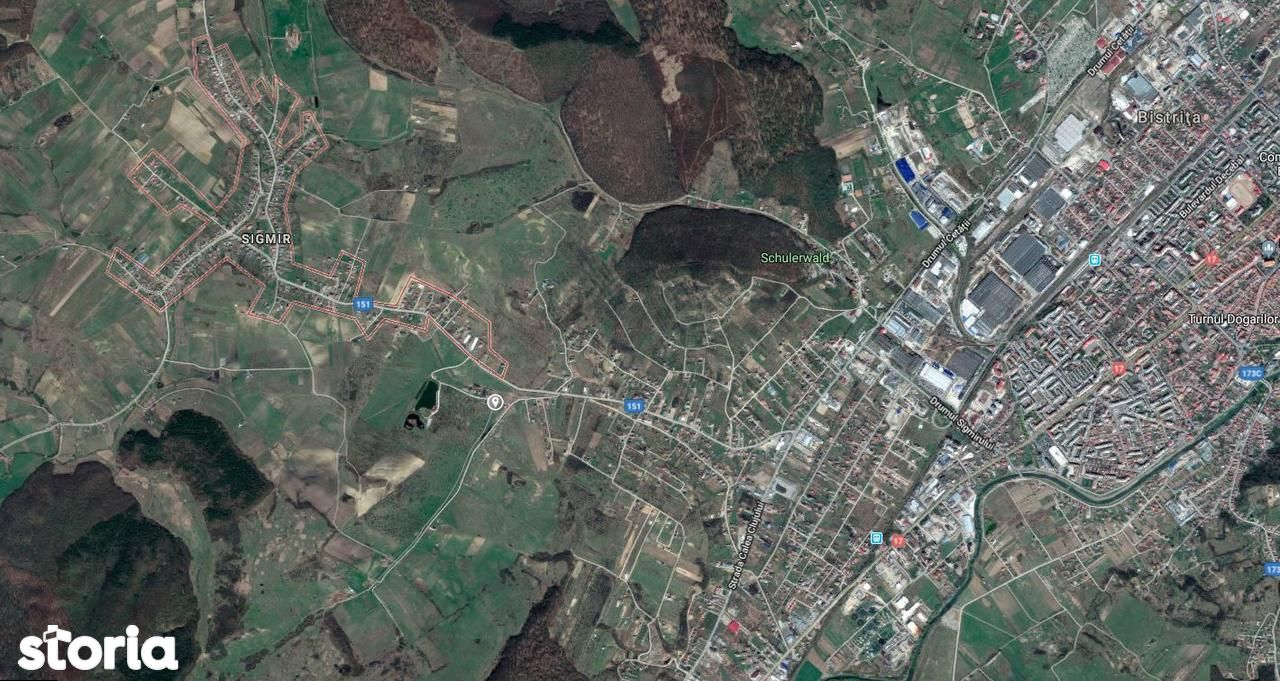 Teren de Vanzare, Bistrița-Năsăud (judet), Strada Zefirului - Foto 14