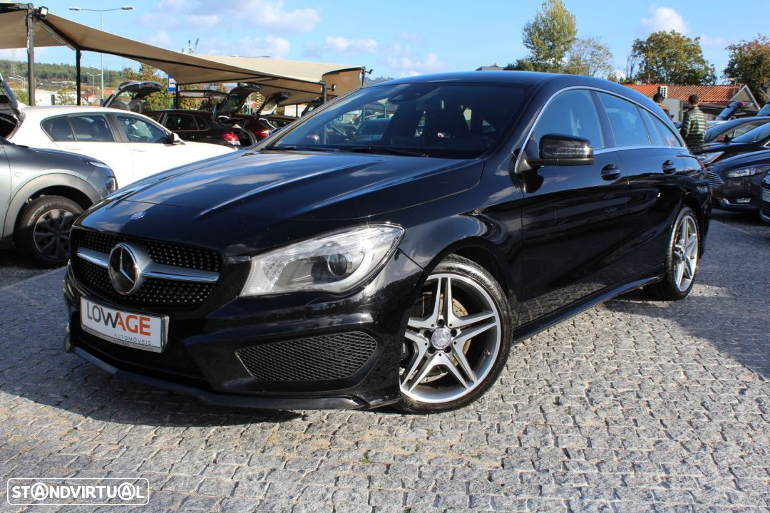 Mercedes-Benz CLA 220 CDI Shooting Break AMG Auto - 30
