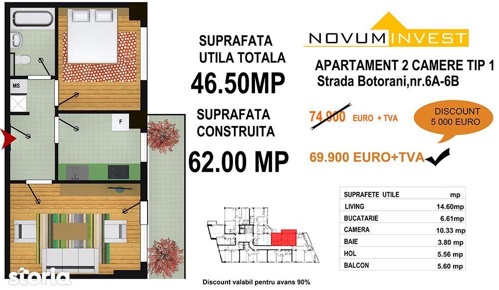 Apartament de vanzare, București (judet), Aleea Botorani - Foto 7