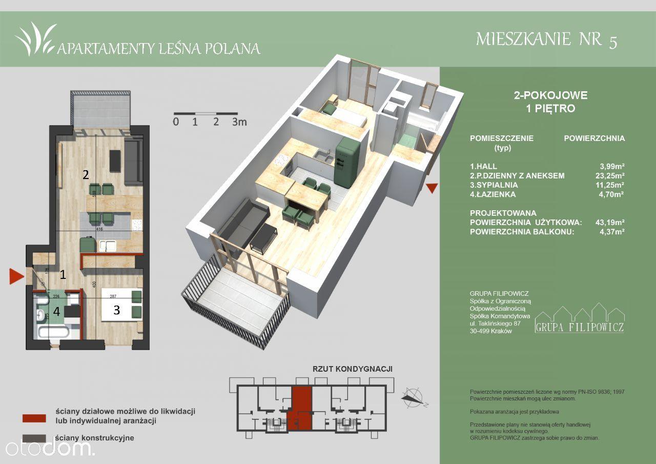 Mieszkanie na sprzedaż, Kraków, Borek Fałęcki - Foto 1