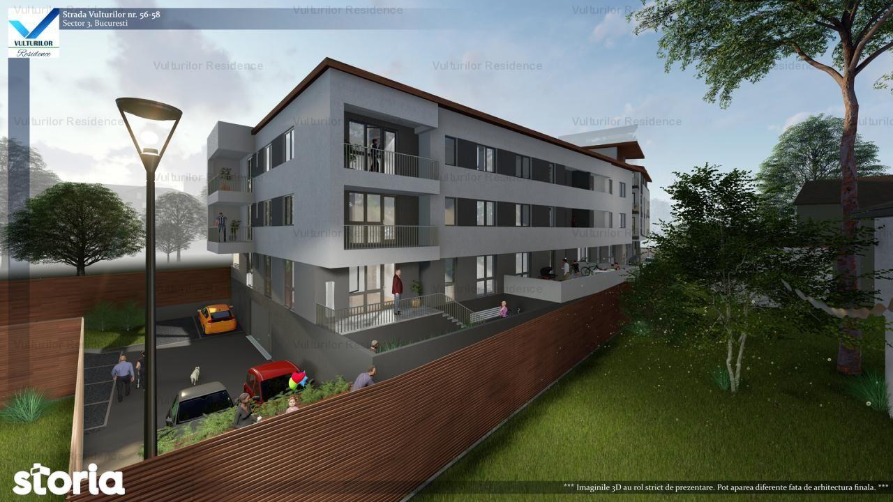 Apartament de vanzare, București (judet), Strada Vulturilor - Foto 1