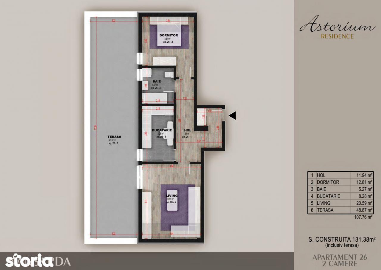 Apartament de vanzare, București (judet), Drumul Gura Arieșului - Foto 3