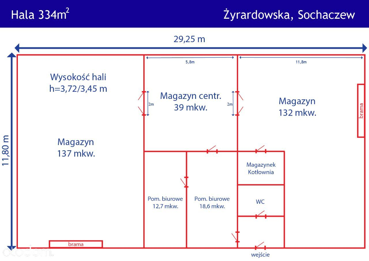 Hala/Magazyn na wynajem, Sochaczew, sochaczewski, mazowieckie - Foto 2