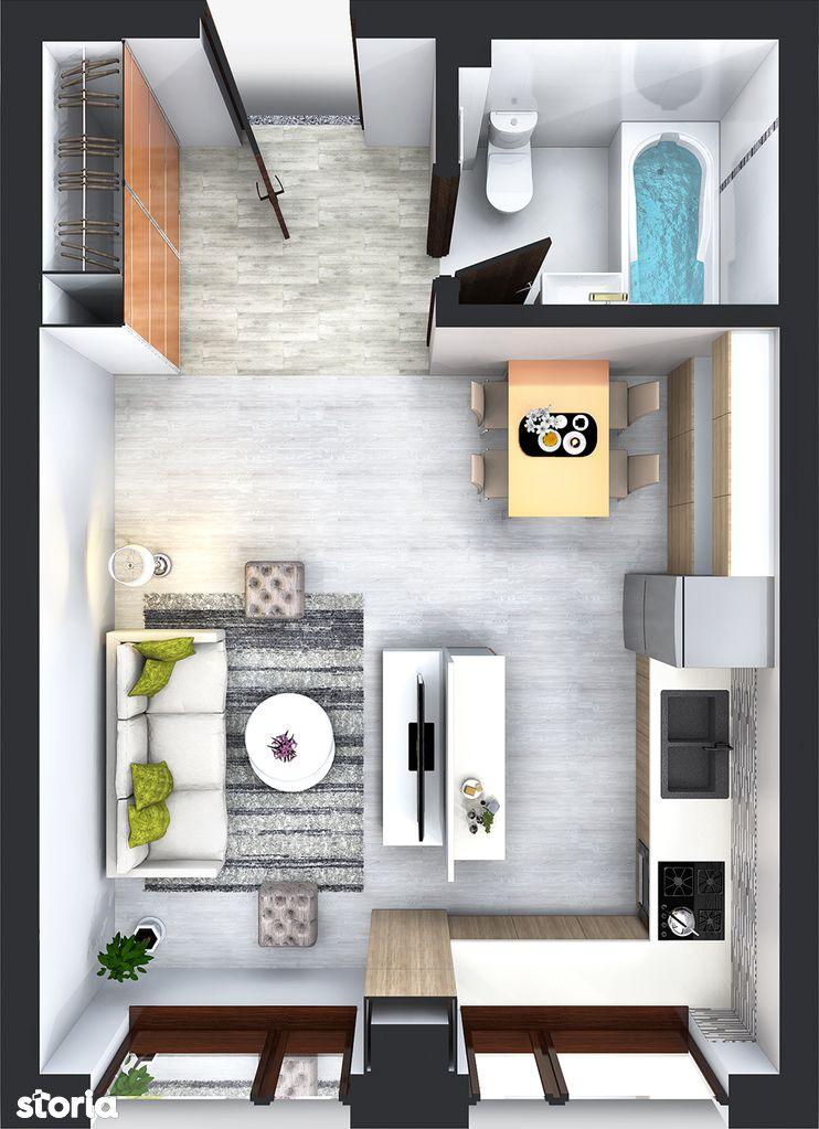 Apartament de vanzare, Iasi, Bucium - Foto 1