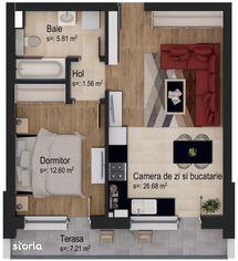 Apartament tip studio by Casa Nobel