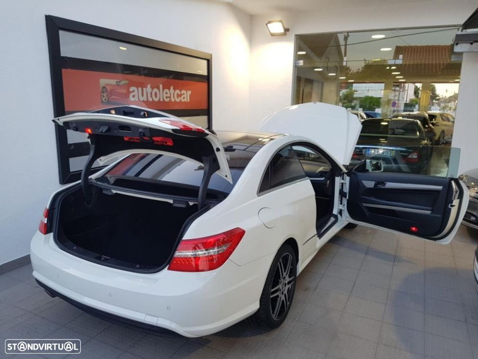 Mercedes-Benz E 250 CDI COUPE AMG EDITION - 28