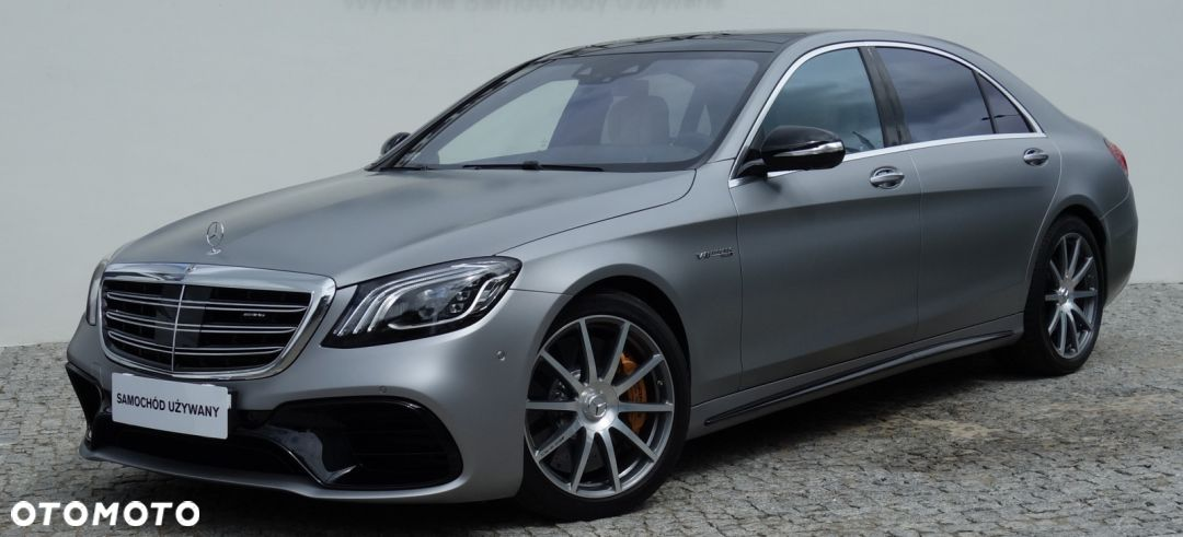 Mercedes-Benz Klasa S S W222 S 63 AMG 4MATIC+  Long - 1