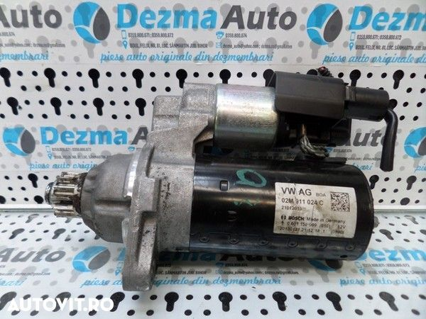 Electromotor cu start stop, Vw Golf 6, 2.0tdi, CFH - 1
