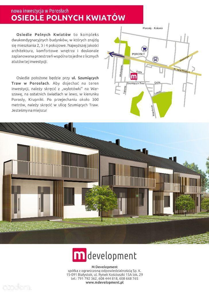 Mieszkanie na sprzedaż, Porosły, białostocki, podlaskie - Foto 1006