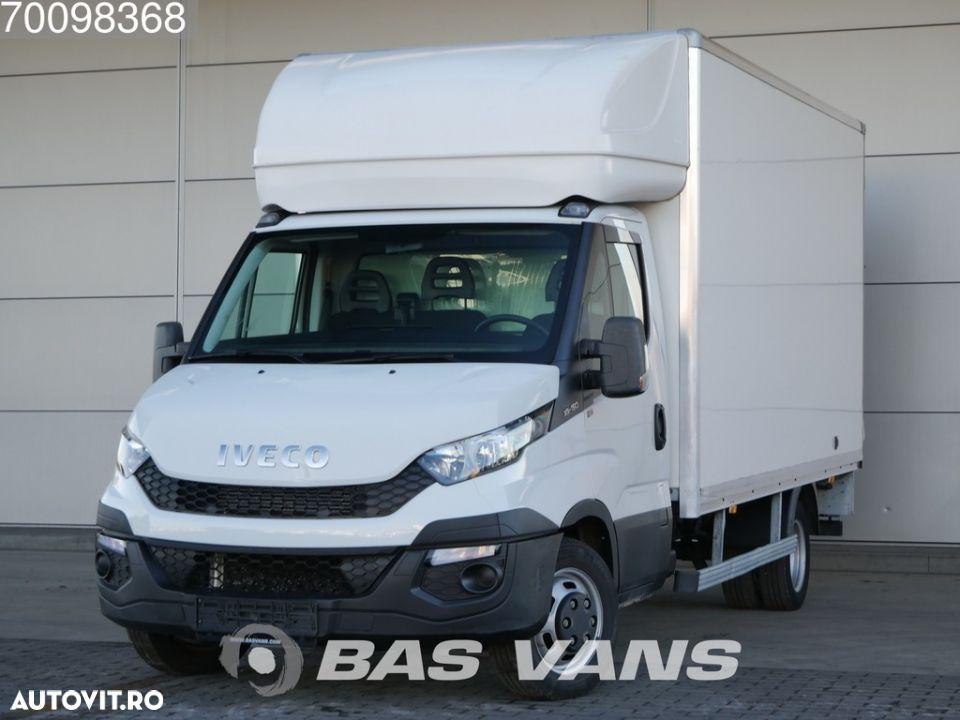 Iveco Daily 35C15 3.0 Bakwagen Laadklep 19m3 Airco Cruise - 1