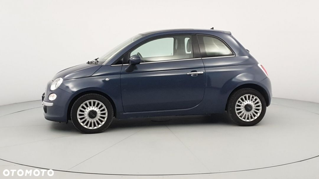 Fiat 500 0,9 Turbo panorama, start-stop, czujniki parkowania. - 2