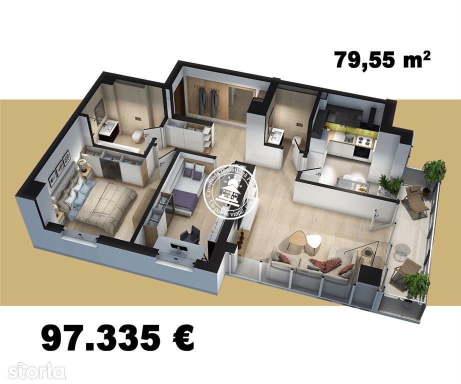 Apartament de vanzare, Iași (judet), Tudor Vladimirescu - Foto 9