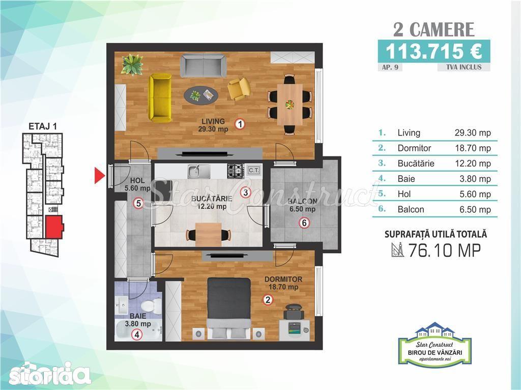 Apartament de vanzare, Bucuresti, Sectorul 3, Calea Calarasilor - Foto 1
